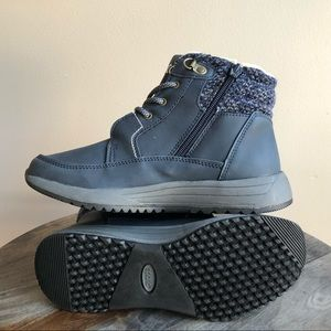 SPORTO Cathy lace-up boot outdoors blue gray